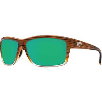 Costa del Mar Men's Mag Bay Polarized Iridium Rectangular Sunglasses