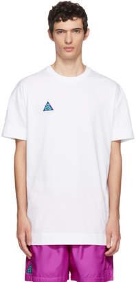 Nike ACG White Light Menta T-Shirt