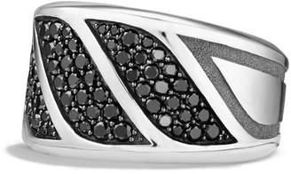 David Yurman 'Graphic Cable' Band Ring