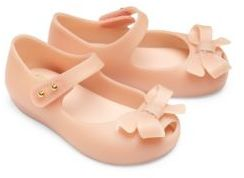 Mini Melissa Baby's & Toddler's Ultragirl Sweet Bow II Flats $60 thestylecure.com
