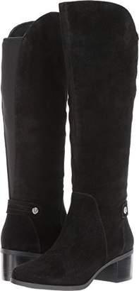 Anne Klein Women's Jela Suede Fashion Boot