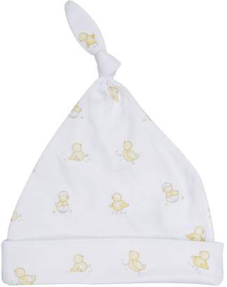 Kissy Kissy Hatchlings Cotton Top Knot Hat
