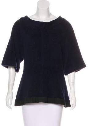 Ter Et Bantine Short Sleeve Bateau Neck Top
