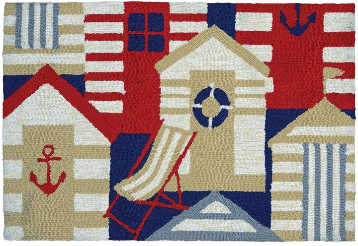 Couristan Couristan Covington Accents Cabana Indoor Outdoor Rug - 2' x 3'