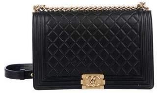 Chanel Lambskin New Medium Boy Bag