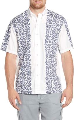 561cd738 Reyn Spooner Summer Stripe Classic Fit Short Sleeve Button-Down Sport Shirt