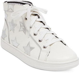 Betsey Johnson Flo Lace-Up Sneakers $69 thestylecure.com