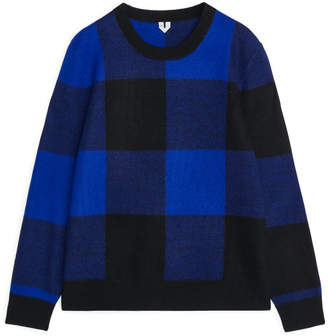 Buffalo Check Merino Jumper