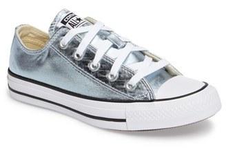Women's Converse Chuck Taylor All Star 'Um - Ox' Metallic Sneaker $59.95 thestylecure.com
