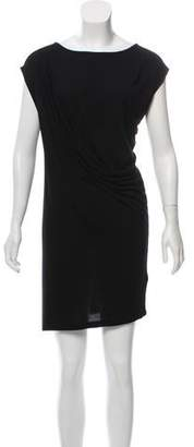 AllSaints Draped Sleeveless Mini Dress