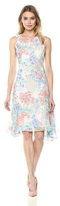 Tommy Hilfiger Women's Floral Chiffon Dress