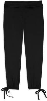 Onzie Girls' Cropped Tie-Hem Pants