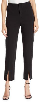 Romeo & Juliet Couture Split-Hem High-Waist Skinny Pants