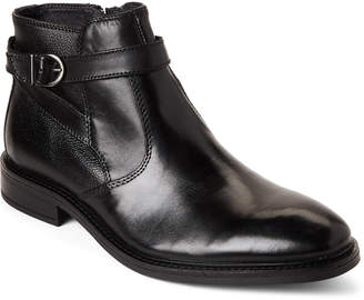 Joseph Abboud Black Bodie Leather Boots