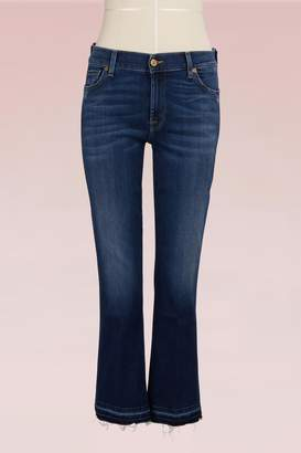 7 For All Mankind Cotton Cropped Jeans
