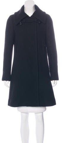 Chloé Chloé Knee-Length Wool Coat