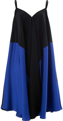 Maison Rabih Kayrouz colour block flared dress