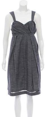 Peter Som Wool Midi Dress