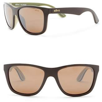 Revo Otis Polarized 58mm Square Sunglasses