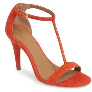 Women's Calvin Klein Nashra T-Strap Sandal $108.95 thestylecure.com