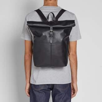 SANDQVIST Antonia Leather Rolltop Bag