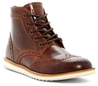 Crevo Boardwalk Wingtip Leather Boot