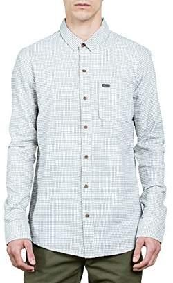 Volcom Men's Royce Long Sleeve Button up Shirt