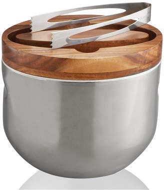 Nambe Mikko Ice Bucket with Tongs