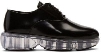Prada Black Cloudbust Oxfords