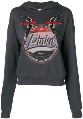 Pinko logo hoodie