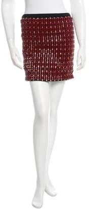 Proenza Schouler Embellished Mini Skirt w/ Tags