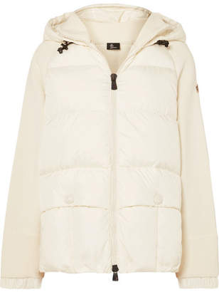 Moncler Quilted Down Jacket - White