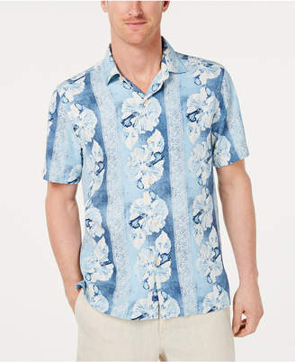 ba79ac372e4 Tommy Bahama Men Hibiscus Heights Hawaiian Shirt