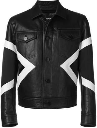 Neil Barrett geometric detail jacket