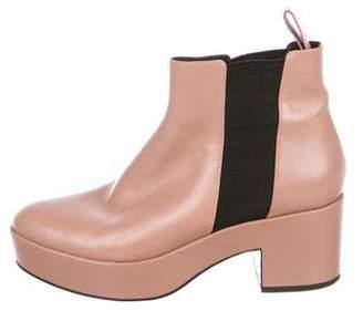 Alexander Wang Platform Ankle Boots