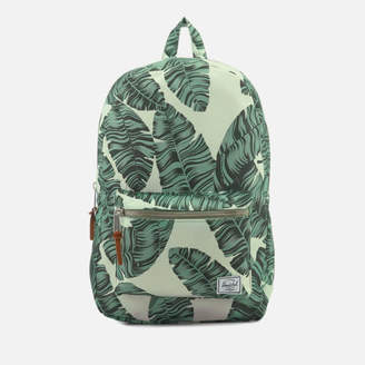 Herschel Men's Settlement Backpack - Silver Birch Palm