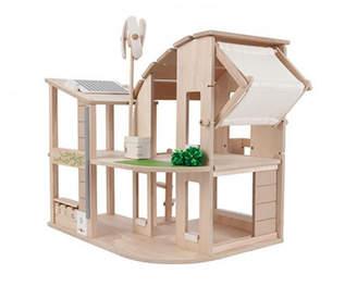Plan Toys Green Dollhouse