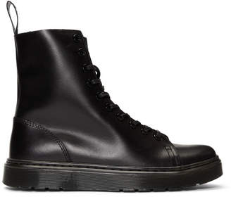 Dr. Martens Black Zaniel Brando High-Top Sneakers