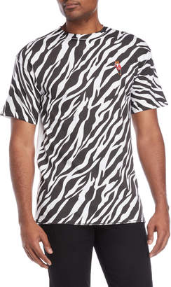 Akoo Zebra Logo Tee