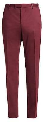 Ermenegildo Zegna Men's Stretch Wool Solid Trousers