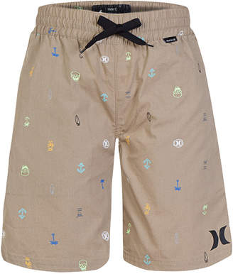 Hurley (ハーレー) - Hurley Printed Cotton Shorts, Little Boys