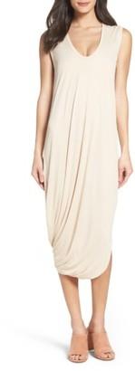 Women's Bcbgmaxazria Ruched Midi Dress $138 thestylecure.com