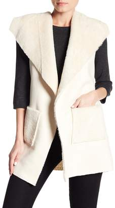 Love Token Ultra Faux Suede Vest