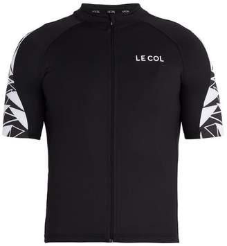 Le Col - Hors Categorie Battleship Zip Through Cycling Top - Mens - Black