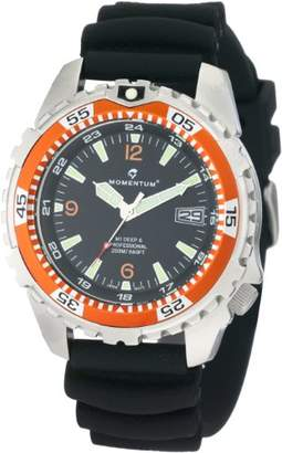 Momentum Men's 1M-DV06O1B M1 Deep 6 Bezel Polyurethane Dive Watch