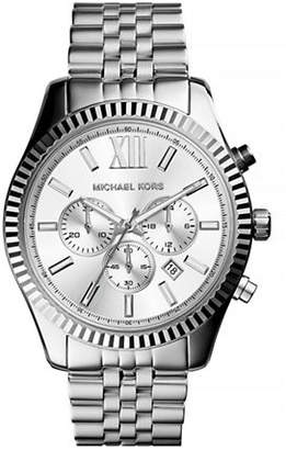 Michael Kors Chronograph Stainless Steel Lexington Watch