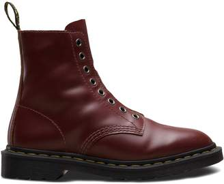 Dr. Martens Fusion 1460 Laceless Vintage Smooth Leather Boots