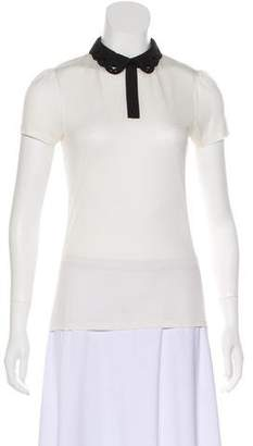 Ted Baker Jersey Short Sleeve Top