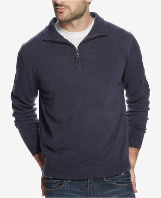 Weatherproof Vintage Men Soft Touch 1/4-Zip Sweater