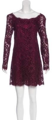 Dolce & Gabbana Guipure Lace Mini Dress w/ Tags